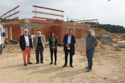 Nos partenaires financiers pour notre nouvelle construction des planètes à Saint André de Corcy
